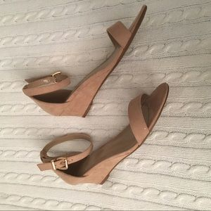 b49add218774c Dream Pairs Shoes - Suede Ingrid Ankle Strap Low Wedge Sandals